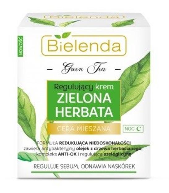 Bielenda Green Tea Krem regulujący na noc 50ml