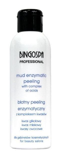 BingoSpa Artline Błotny peeling enzymatyczny z kompleksem kwasów 150g