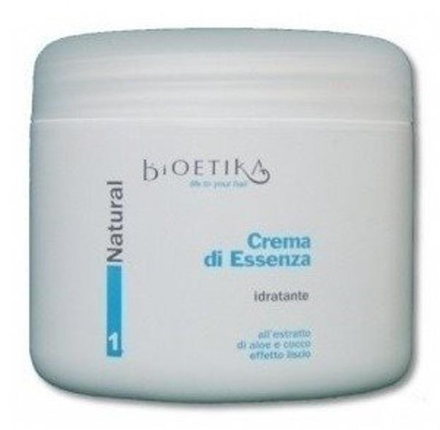 Bioetika Natural Crema di Essenza 1 Krem dodający blasku i objętości zniszczonym włosom, 500 ml