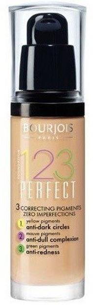 Bourjois 123 Perfect Foundation Podkład korygujący niedoskonałości 50 Rose Vanilia 30ml