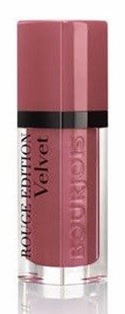 Bourjois Rouge Edition Velvet - Matowa pomadka do ust 07 Nude-ist, 6,7 ml