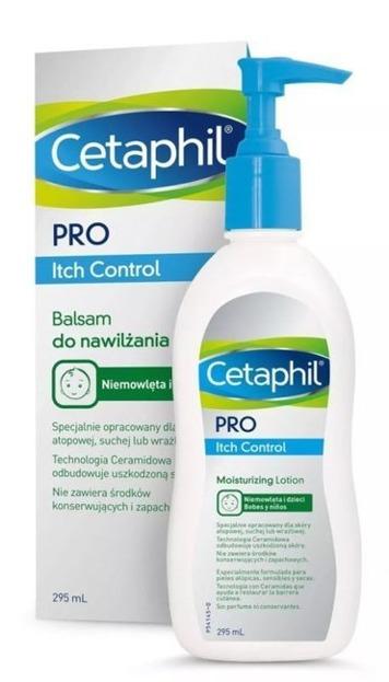 CETAPHIL PRO Itch Control Balsam nawilżający 295ml