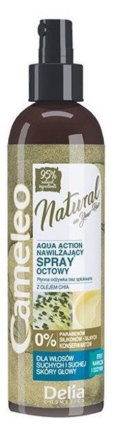 Cameleo Natural spray Nawilżajacy spray octowy do włosów 200ml