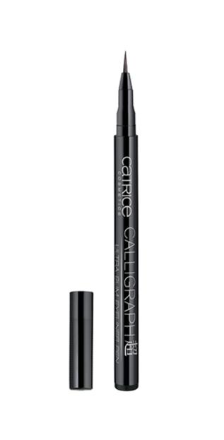 Catrice Calligraph Ultra Slim Eyeliner - Ultra cienki eyeliner w pisaku 010 Blackest Black, 1ml