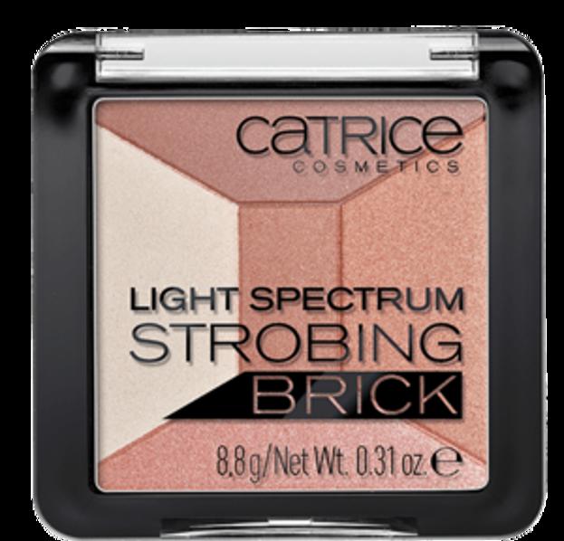 Catrice Light Spectrum Strobing Brick Rozświetlacz do strobingu 010