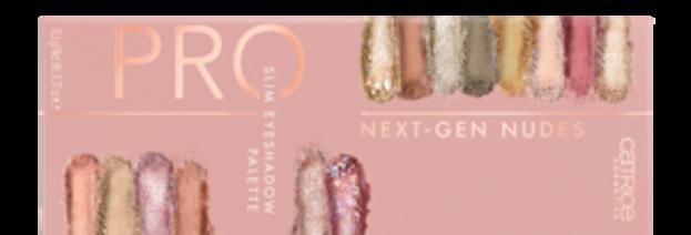Catrice PRO Slim Eyeshadow Palette Paleta cieni do powiek Next-Gen Nudes
