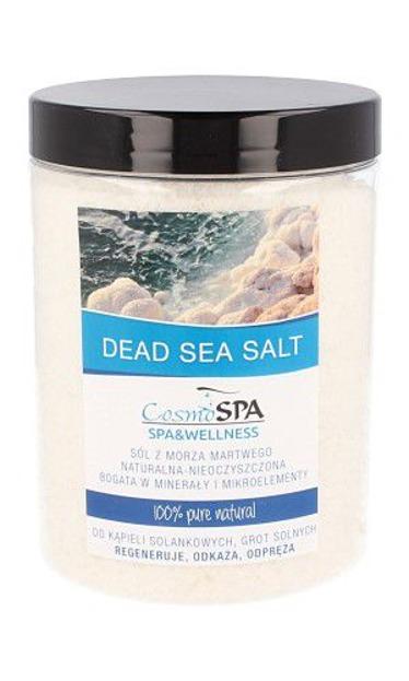 CosmoSPA Naturalna nieoczyszczona sól z Morza Martwego 1200g