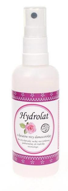 CosmoSPA Naturalny hydrolat z kwiatów róży damasceńskiej 100ml