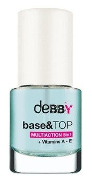 Debby Base&Top Multiaction 5in1 Baza i lakier nawierzchniowy 5w1 7,5ml