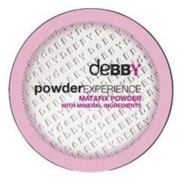 Debby Powder Mat&Fix Powder Puder matujący w kompakcie 0