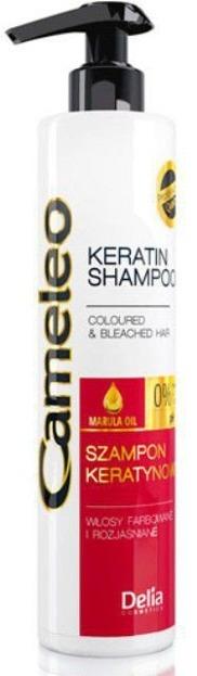 Delia Cameleo Szampon keratynowy włosy farbowane i rozjaśniane, 250 ml