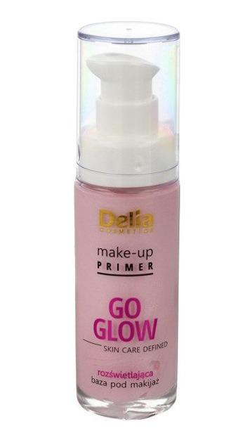 Delia GO GLOW Rozświetlająca baza pod makijaż 30 ml