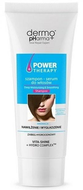 DermoPharma Power Therapy Szampon do włosów Nawilżenie 240ml