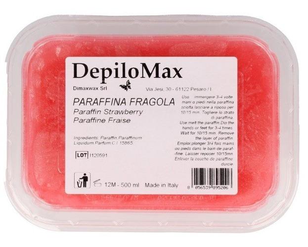 Dimax Parafina kosmetyczna FRAGOLA Truskawka 500ml