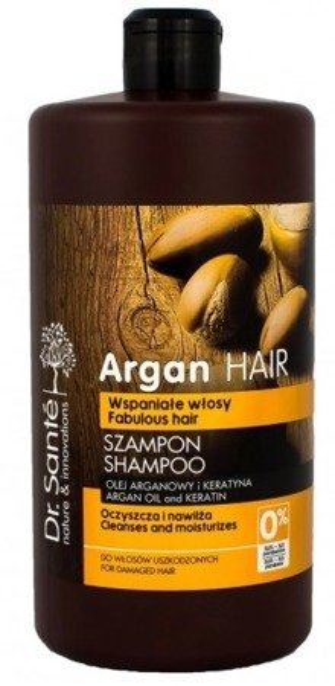 Dr.Sante Argan Szampon olejem arganowym i keratyną do włosów uszkodzonych 1000ml