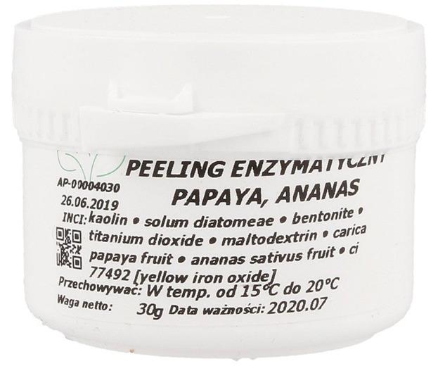 Bisia: Peeling enzymatyczny.