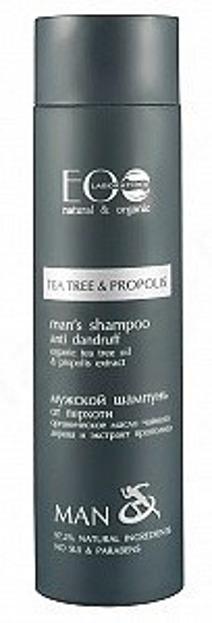 EO LAB Man Szampon przeciwłupieżowy dla mężczyzn Tea Tree&Propolis 250ml