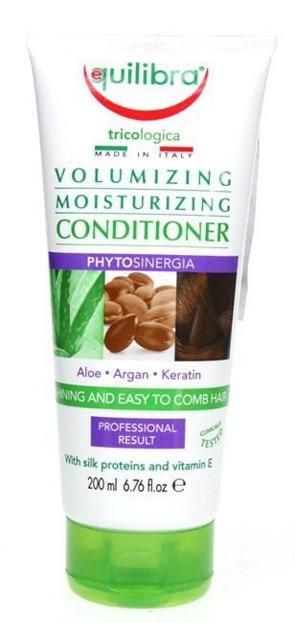 Equilibra Tricologica Volumising And Moisturising Conditioner - Nawilżająca odżywka do włosów zwiększająca objętość 200 ml