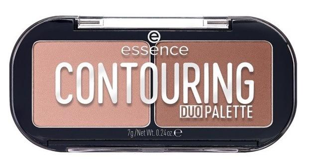 Essence Contouring DUOPalette Paleta do konturowania 10 Lighter skin 7g