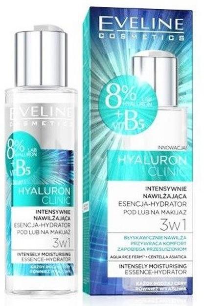 Eveline Cosmetics Hyaluron Clinic Intensywnie nawilżająca esencja-hydrator do twarzy 110ml