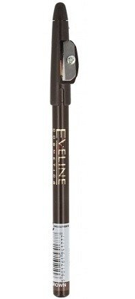 Eveline Eyeliner Pencil Kredka do oczu z temperówką Brown