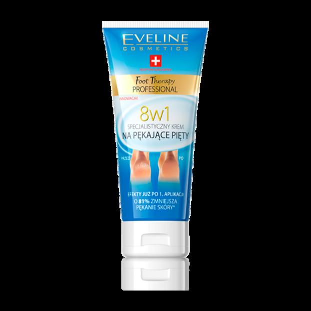Eveline Foot Terapy Specjalistyczny krem na pękające pięty 8w1, 100 ml