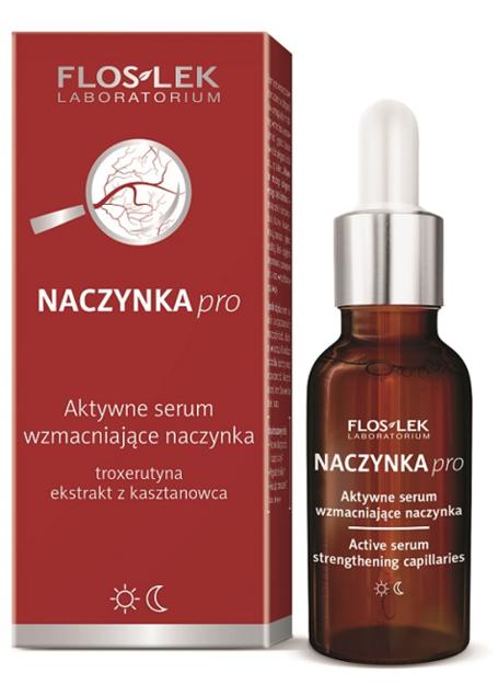 FLOSLEK Aktywne serum wzmacniające naczynka 30ml