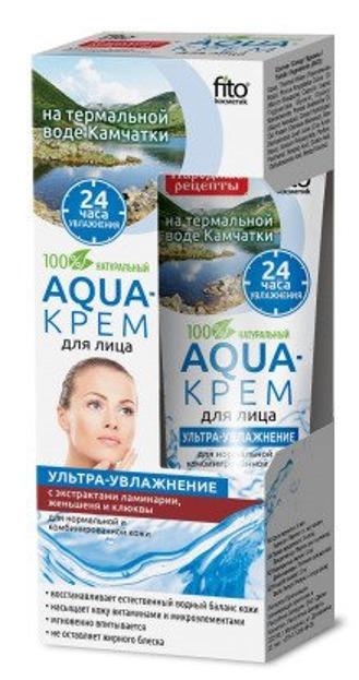 Fitokosmetik Aqua Krem do cery normalnej i mieszanej Ultra nawilżenie 45ml