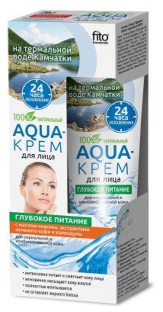 Fitokosmetik Aqua Krem do twarzy do cery normalnej i mieszanej Głębokie odżywienie 45ml
