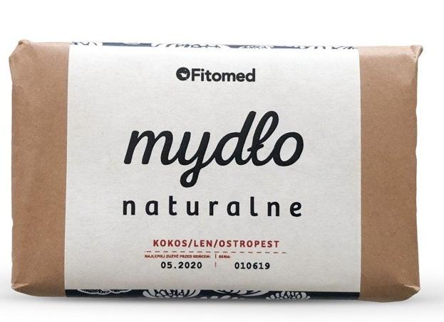 Fitomed Mydło naturalne Kokos/Len/Ostropest 95g