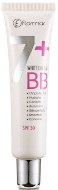 Flormar  BB White Cream 7+ BW02 Light Medium 40ml