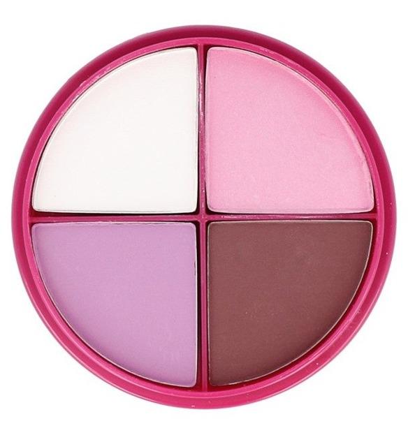 Flormar Eye Shadow Quartet P043 Sweet Pinkies Zestaw 4 cieni do powiek