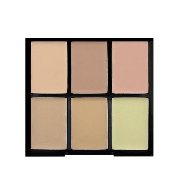 Freedom PRO Conceal&Correct Palette - Paleta 6 korektórów do twarzy Light