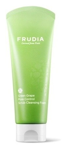 Frudia Green Grape Pore Control Scrub Foam Pianka oczyszczająca do mycia twarzy 145ml
