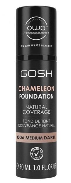 GOSH Chameleon Foundation Podkład adaptujący się do skóry 006 medium dark 30ml