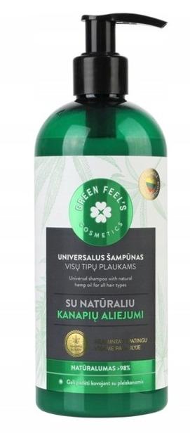 Green Feel's Szampon do włosów z olejem konopnym 400ml