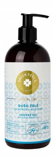 Green Feel's Żel pod prysznic z olejem kokosowym 400ml