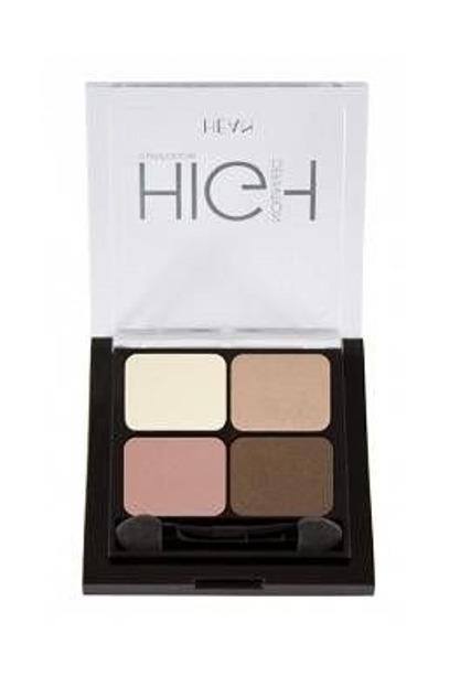 HEAN High Definition Eyeshadow - Poczwórne cienie do powiek  411 Nude