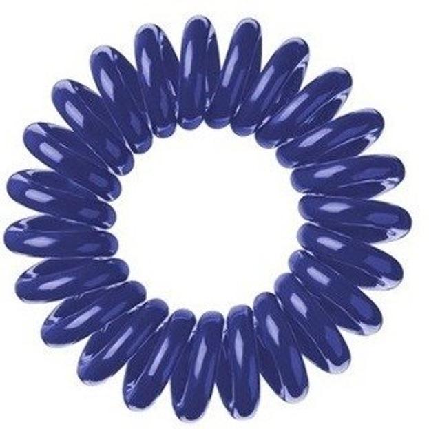 Hair Springs Granatowa gumka do włosów SPRĘŻYNA 1szt.