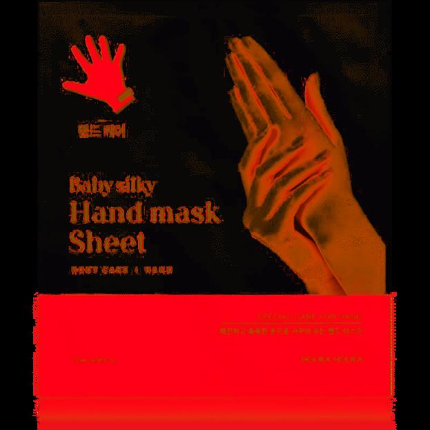 Holika Holika Baby Silky Hand Mask Sheet - Nawilżająco - złuszczająca maseczka do rąk