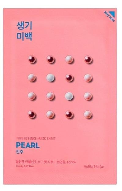 Holika Holika Mask Sheet Pure Essence Pearl - Maseczka do twarzy w płachcie z ekstraktem z perły 20ml