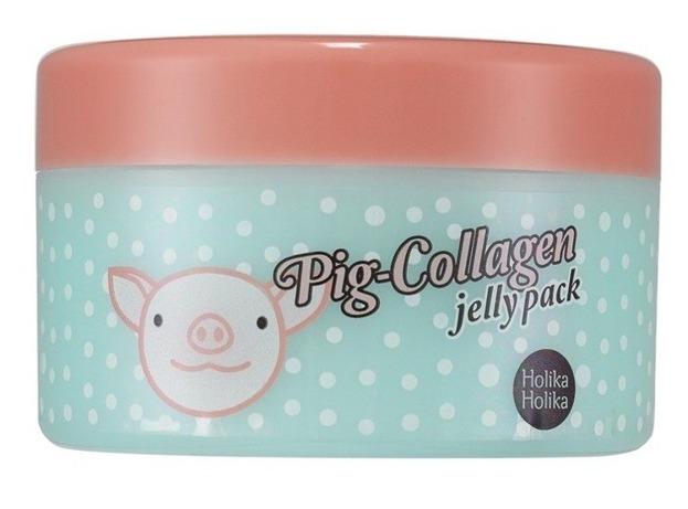 Holika Holika Pig-Collagen jelly pack - Krem do twarzy na noc z kolagenem 80g