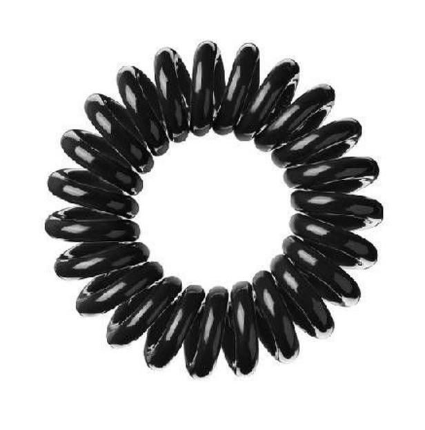 INVISIBOBBLE Czarne gumki do włosów, opakowanie 3 sztuki