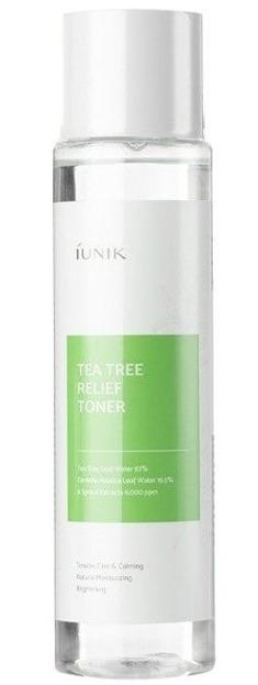 IUNIK Tea Tree Relief Toner Łagodzący Tonik do Twarzy z Wodą z Drzewa Herbacianego 200ml