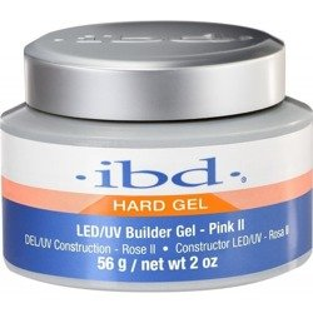 Ibd Hard Gel Builder LED/UV French Pink II Żel budujący 56g