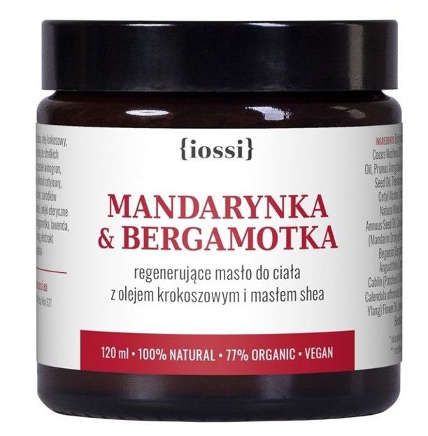 Iossi Regenerujące masło do ciała Mandarynka&Bergemotka 120ml