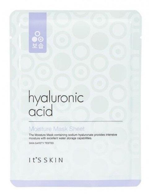 It's Skin Hyaluronic Acid Moisture Mask Sheet Nawilżająco-rewitalizująca maska do twarzy w płachcie 17g