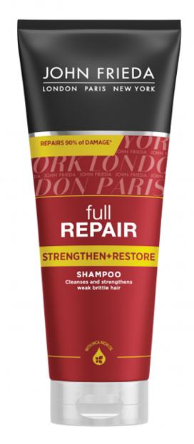 John Frieda Full Repair Strengthen+Restore Shampoo Odbudowujący szampon do włosów 250ml