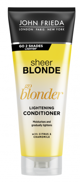 John Frieda Sheer Blonde Go Blonder Lightening Conditioner Rozjaśniająca odżywka do włosów blond 250ml