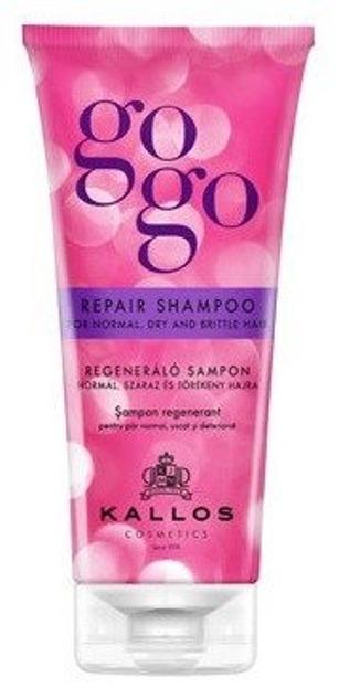 Kallos GoGo Szampon regenerujący do włosów suchych i normalnych 200ml